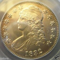Wow Very Rare Overton 102a Small Letters 1832 Capped Bust Half Dollar