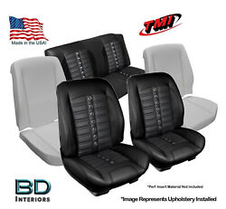 Sport Xr Custom Seat Upholstery And Foam 1966 1967 Chevy Chevelle Convertibleand039s