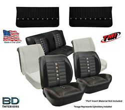 Sport Xr Seat Upholstery Foam And Front Panel Kit 1964 1965 Chevelle Coupeand039s