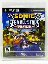 Sonic And Sega All-stars Racing - Ps3 - Brand New | Factory Sealed