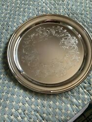 Vintage Sheridan Taunton 12 Serving Tray New In Box Lovely Pattern Never Used