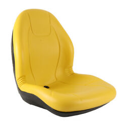 New Complete Tractor Seat 3010-0060 Yellow Medium Back 21 Height