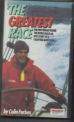 The Greatest Race Colin Forbes Whitbread Yachting Vhs Tested