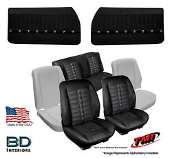Sport Xr Seat Upholstery Foam And Panel Kit 1969 Chevrolet Chevelle Convertibleand039s