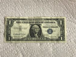 Silver Certificate 1957a Star Note - One Dollar - See The Pics - Ships Promptly
