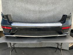 Mercedes X166/ Complete Rear Bumper Cover Assembly Grill Parking Pdc Sensor Oem