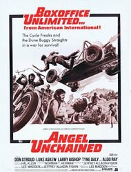 Angel Unchained 1970 Original Vintage 9x12 Industry Ad Don Stroud Tyne Daly