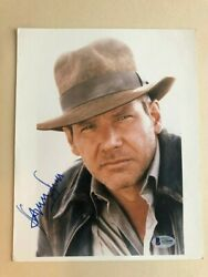 Harrison Ford Signed Autographed 8x10 Photo Indiana Jones Beckett Authenticated
