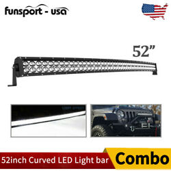 52inch 700w Curved Led Light Bar Combo Offroad Roof Light For Truck Atv 50/52