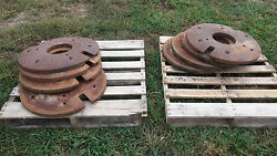 Tractor Weights ---- Front And Rear Wheel Weights