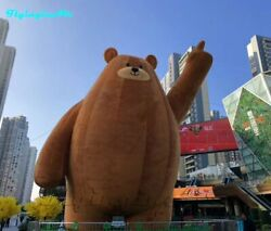 Giant Brown Bear Inflation Shown Outdoor Cute Inflatable Bear For Advertisement