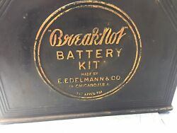 Break- Not,, Battery Service - Carrier- Display- Vintage Auto Collectible- -