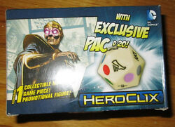 Sdcc 2015 Neca Dc Heroclix Felix Faust With Custom D20 Exclusive Limited Edition
