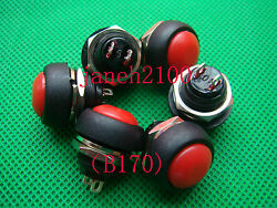 500pc Red Momentary Offon Push Button Horn Switch B170