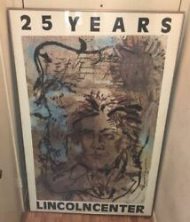 Schnabel 25 Years Lincoln Center 1984 Serigraph