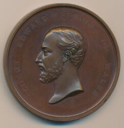 Canada Copper Medal 1872 Of Wales Recovery Leroux 1660
