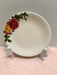 ❤rare Royal Albert Old Country Roses Sculptural Salad Lunch Desert 7.25 Plate ❤
