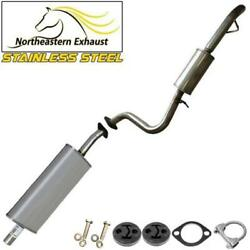 Stainless Steel Exhaust Kit With Hangers And Bolts Fit 2001-2004 Tribute Escape