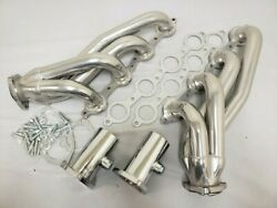 Chevy Chevelle Camaro Polished Ceramic Coated Shorty Exhaust Headers Ls1 Ls2 Ls3