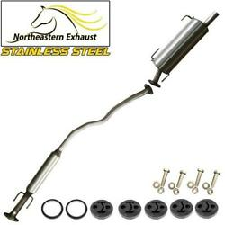 Stainless Steel Exhaust Kit With Hangers And Bolts Fit 07-2011 Versa Hatch 1.8l