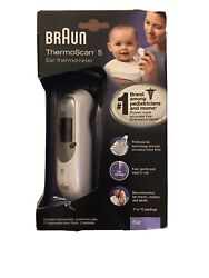 Braun Digital Ear Thermometer ThermoScan 5 IRT6500 Includes 61 Lens Filters