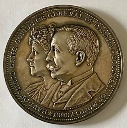 Canada Governor General Medal Silver Earl Of Minto Clowery 108 Awarded 1905