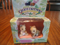 Calico Critter Whiskers Cat Twins