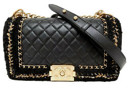 Chanel Boy 'Jacket' Medium Classic Flap Bag Limited Ed