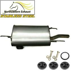 Stainless Steel Exhaust Muffler With Bolts And Hangers Fits 1992-1996 Camry 2.2l