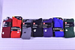 Unisex Adult Under Armour Team Over the Calf Socks Choose Color amp; Size $8.99