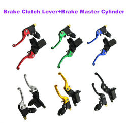 6 Colors Brake Master Cylinder Clutch Lever For Chinese Made 50cc-250cc Parts