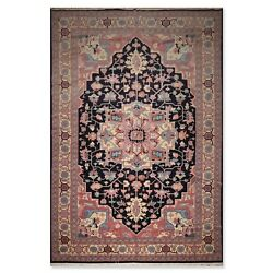 12'1 X 18'2 Hand Knotted Palace Size Herizz Oriental Area Rug Traditional Blue