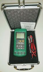 Ms7221 Volt/ma Voltage Loop Calibrator With Case And Test Leads
