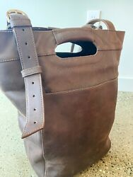 Saddleback Leather Love41 Bucket Leather Tote Bag $199.00