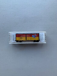Micro Trains N Scale Special Run Firewater And Kicking Horse Box Car