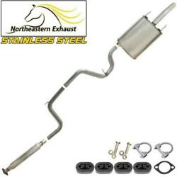 Stainless Steel Exhaust Kit With Hangers And Bolts Fit 2000-02 Montecarlo Impala