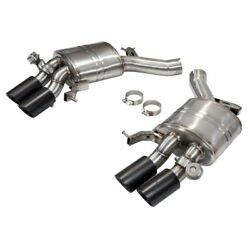 Bmw M6 Series F12 F13 V8 Premium Valvetronic Exhaust Silencers With Carbon Tails