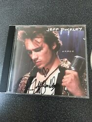 Grace By Jeff Buckley Cd 1994 Columbia Usa Signed Autographed Copy.