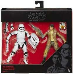 New Star Wars Black Series 6 Inch Poe Dameron And 1st Order Riot Control Trooper