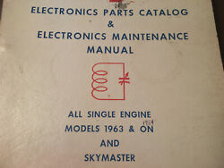 Factory Wiring Book 1963 To 1964 Cessna All Single Engine And Skymaster