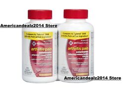Memberand039s Mark 650 Mg Arthritis Pain Tablets Twin Pack 400 Ct. Sealed