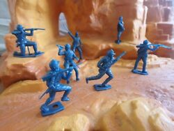 Vintage Mpc Multiple Toys Acw Union Infantry And Cavalry In Amazing Condiiton.