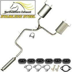 Stainless Steel Exhaust Kit With Hangers And Bolts Fit 1997-2002 Grandprix 3.8l