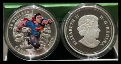 2015 Silver Iconic Comic Book Covers Superman Action Comics 1 2011 1 Oz Coin