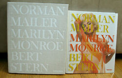Signed Numbered Bert Stern Marilyn Monroe Norman Mailer Limited Clam Shell Box