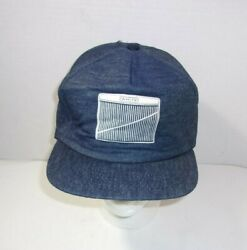 Rare White Motor Co. Farm Tractor Agriculture Trucker Vintage Hat Cap Clean