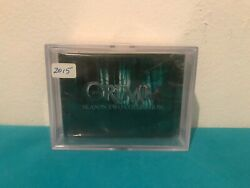 Grimm Season Two Tv Show Trading Cards Full Base Set 1@72 Sealed New