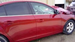 Passenger Right Front Door Red Vin P 4th Digit Limited Fits 12-16 Cruze 62432