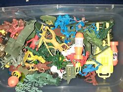Vintage Large Mixed Lot Of Timmee Toys,hasbro And Others