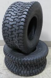 Two 18x8.50-8 18x850-8 18/8.50-8 188508 D265 Lawn Mower Turf Tires 4ply Rated